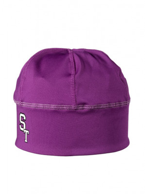 ST Lycra ski hat unisex purple