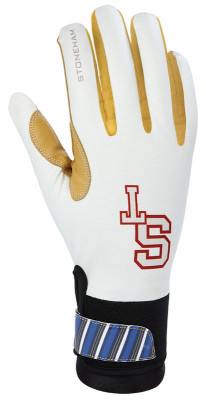 ST racing gloves white