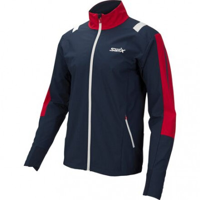 SWIX INFINITY JACKET Blue/Red 15241-75101