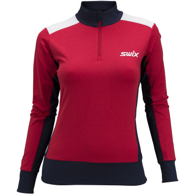 SWIX QUANTUM NTS TOP WOMAN- Red