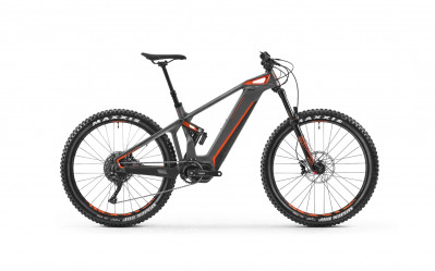 MONDRAKER E-CRUSHER CARBON R+ 27.5 Graphite/Orange