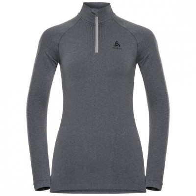 ODLO WOMENS PERFORMANCE WARM l/s TURTLE NECK Grey Melange 188081-15701
