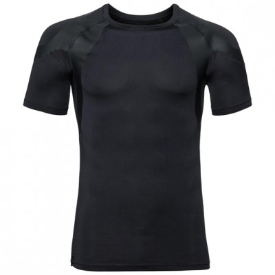 ODLO TOP s/s ACTIVE SPINE LIGHT Black 195402-15000