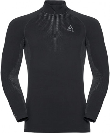 detail ODLO BL TOP TURTLE NECK PERFORMANCE Grey
