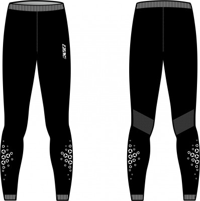 KV+ SEAMLESS PANTS UNISEX Black 20U105-1