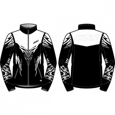KV+ TORNADO JACKET Black/White 20V104-1