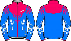 KV+ TORNADO JACKET WOMAN Blue/Pink 20V107-2