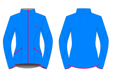 KV+ KARINA JACKET WOMAN Blue/Pink 20V120-2