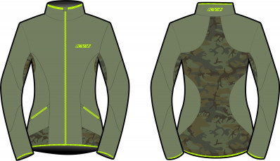 KV+ KARINA JACKET WOMAN oil green/camo 20V120-7