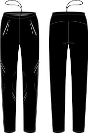 detail KV+ KARINA PANTS WOMAN Black 20V121-1