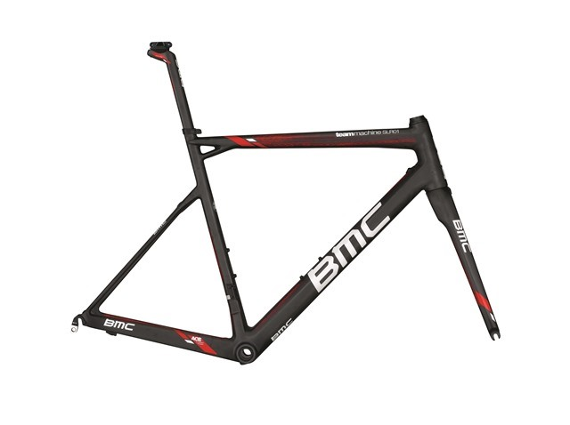 BMC Teammachine SLR01 DTi FRAME SET TeamRed 2015