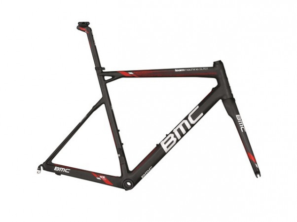 detail BMC Teammachine SLR01 DTi FRAME SET TeamRed 2015
