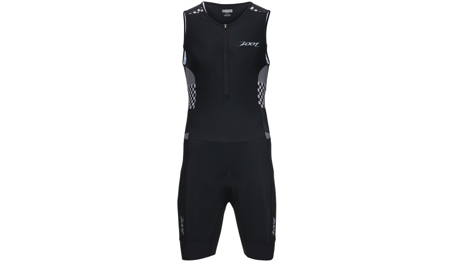 ZOOT PERFORMANCE TRI RACESUIT Silver checkers