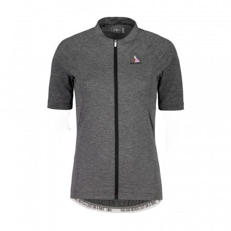 detail MALOJA BORGIAM. Grey Melange