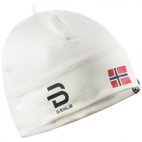 detail BJORN DAEHLIE Hat Polyknit Flag – Snow White 331003-10000