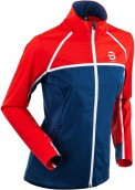 detail BJORN DAEHLIE JACKET TRACE WMN – Blue/Red 332692-35400