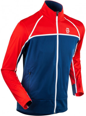 BJORN DAEHLIE JACKET TRACE – Blue/Red 332886-35400