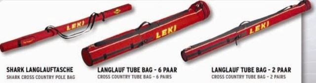 LEKI SHARK XC BAG 2PAIR 185 cm