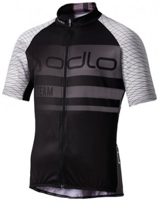ODLO Stand-up collar s/s full zip TELEGRAPHE 410742-15061