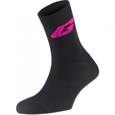 GAERNE G.PROFESSIONAL LONG SOCKS Black/Fuxia