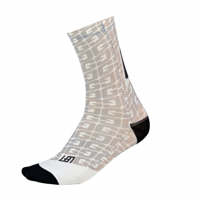GAERNE MONOGRAM SOCKS White