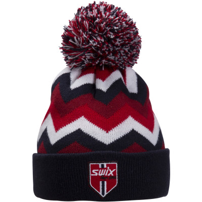 SWIX BLIZZARD JR HAT Blue/Red 46632-90900