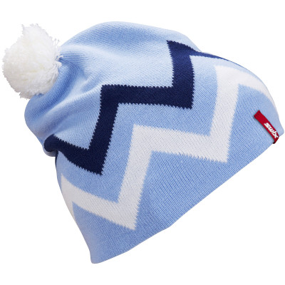 SWIX TRACX BEANIE Light Blue 46648-72108
