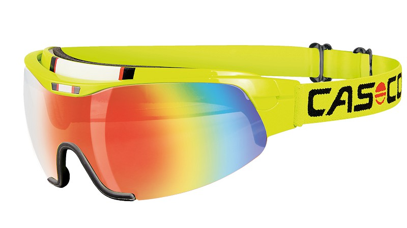 CASCO SPIRIT CARBONIC neon yellow - rainbow 2019