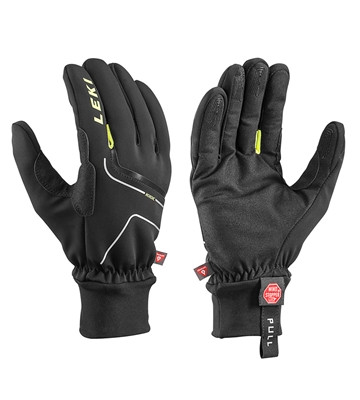 detail LEKI NORDIC THERMO Black/Yellow