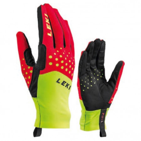 detail LEKI NORDIC RACE Red/Yellow/Black