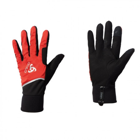 detail ODLO WINDPROOF LIGHT GLOVES 761040-38601