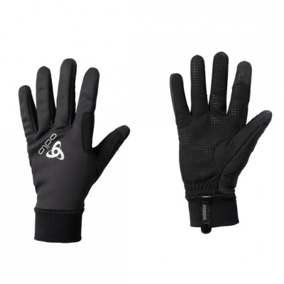 ODLO GLOVES WINDPROOF WARM Black 761160-15000