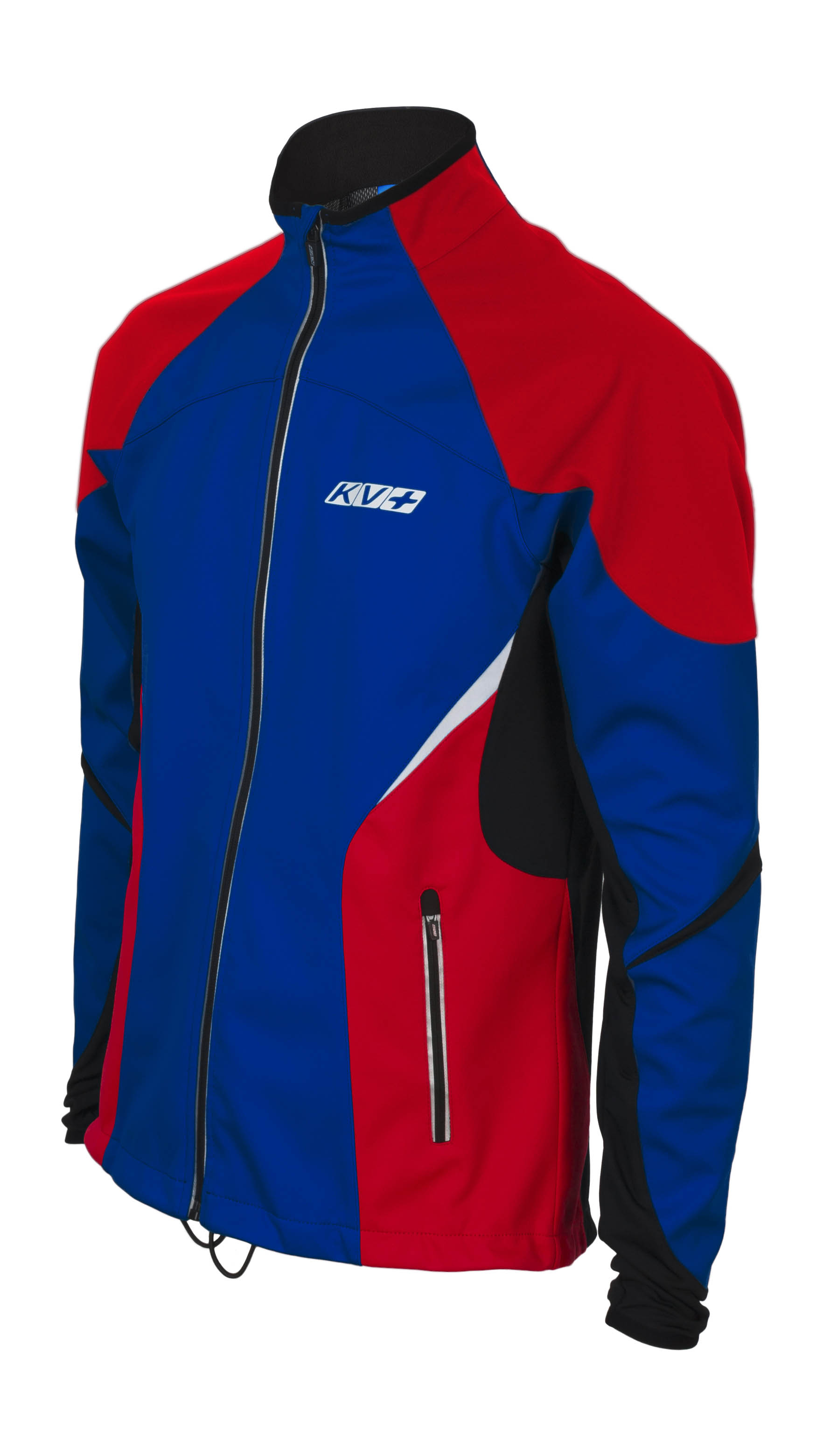 KV+ LAHTI JACKET JUNIOR Navy/Black/Red 7V116-4J