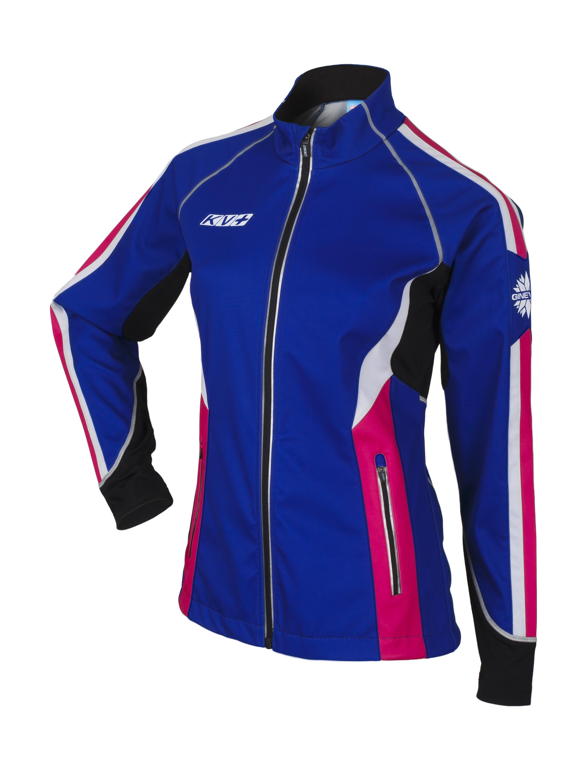 detail KV+ GINEVRA JACKET WOMAN – navy/pink 7V120-5