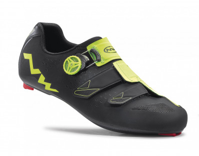 NORTHWAVE PHANTOM CARBON – BLACK/YELLOW FLUO