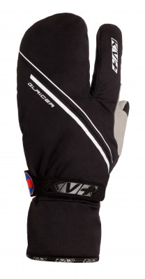 KV+ GLACIER PRO WIND TECH GLOVES Black 8G06-1