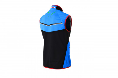 KV+ DAVOS VEST UNISEX Blue/Red/Green 8V142-23