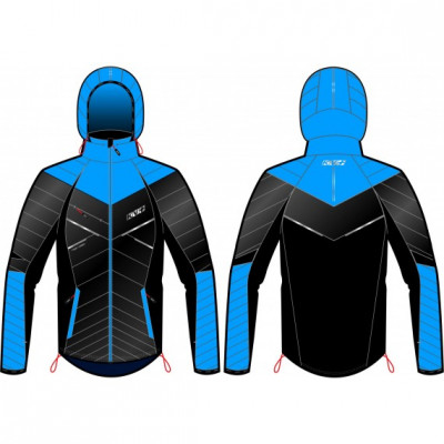 KV+ ARTICO JACKET UNISEX Black/Blue 8V106-4