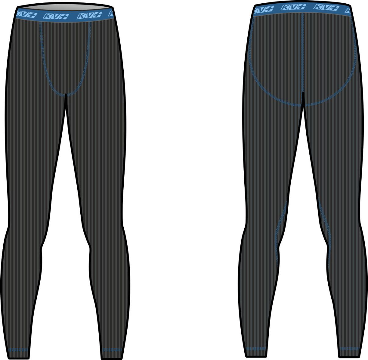 KV+ TENERO MAN PANTS Black/Petrol 9U134-1