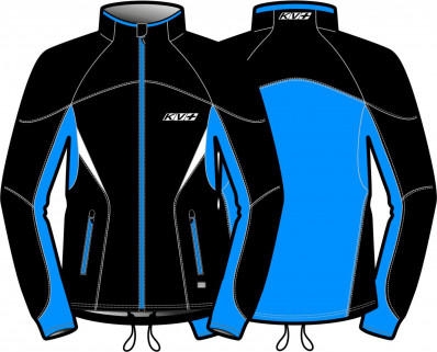 KV+ LAHTI JACKET UNISEX Black/Blue 9V116-12