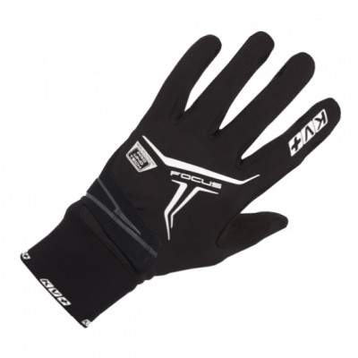 KV+ XC FOCUS GLOVES Black 9G07-1