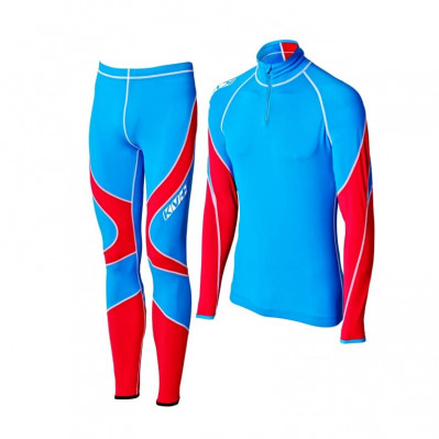 KV+ LAHTI TWO PIECES SUIT Blue/Red 9V118-32