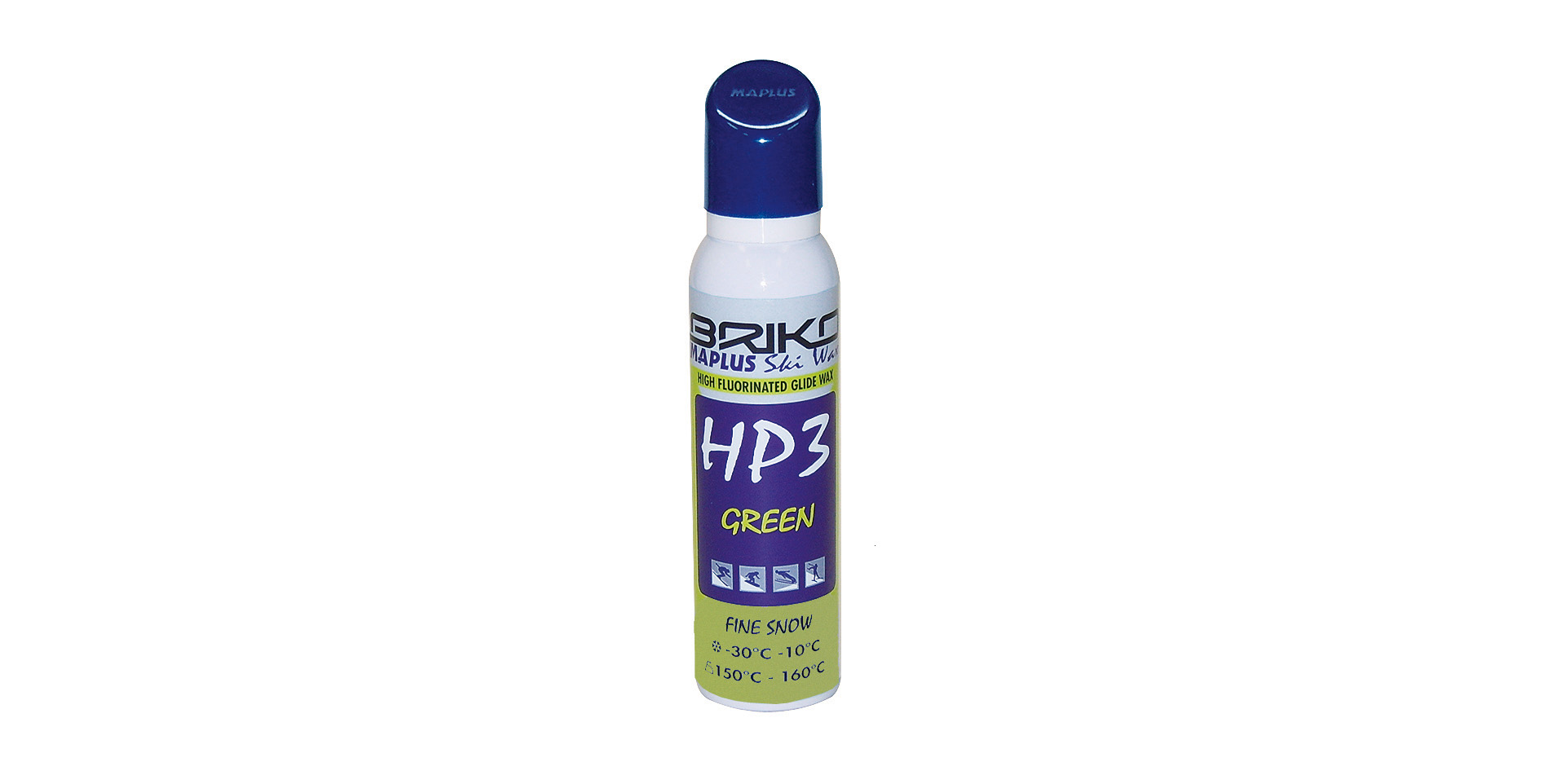 detail BRIKO MAPLUS HP3 HIGH FLUORINATED GREEN - POWDER 50g
