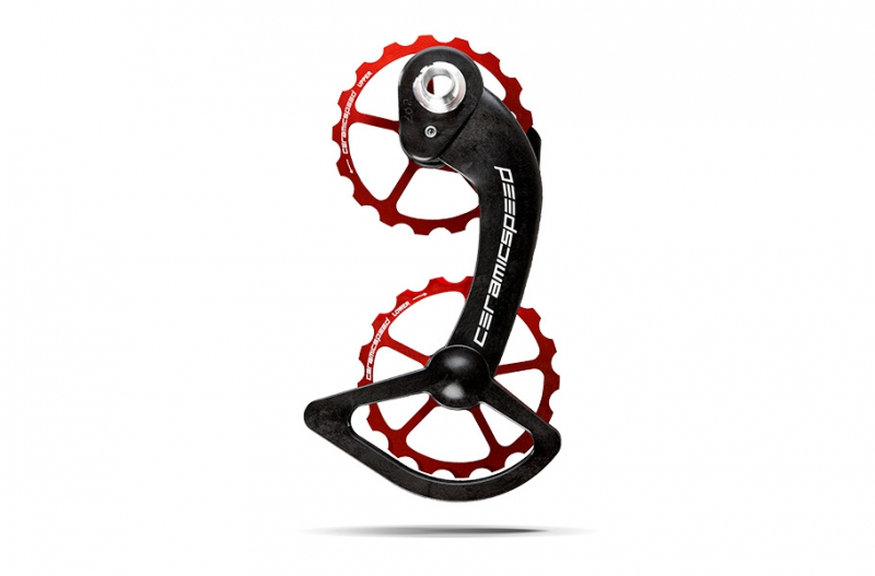 CERAMICSPEED OSPW SHIMANO 10 + 11s (Ultegra+DuraAce) COATED Red