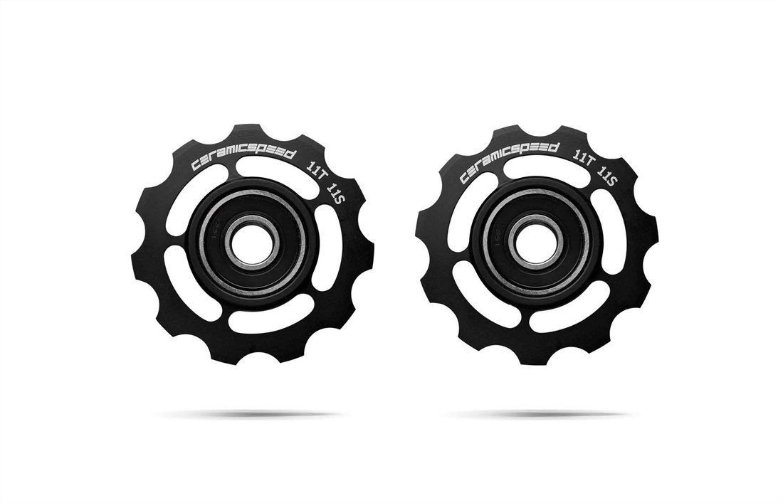 CERAMICSPEED PULLEY WHEELS SRAM 11s road – Black
