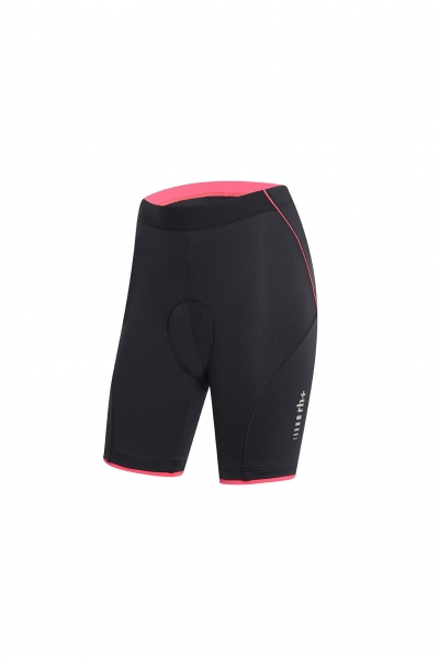 RH+ FUSION W SHORTS Black/Rouge Red ECD0473-979
