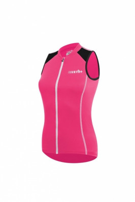 RH+ SPIRIT W SLEVELESS JERSEY Rouge Red/White/Black ECD0476-312