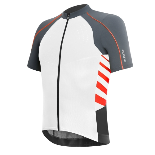 RH+ DRY SKIN AIRX JERSEY – white/red ECU0315-003