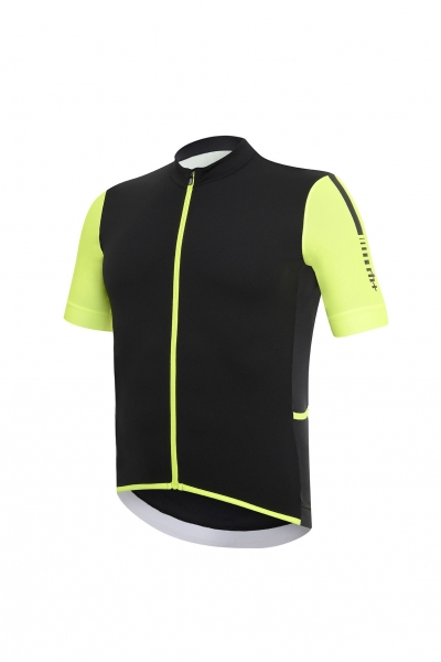RH+ HERO JERSEY Black/Fluo Yellow ECU0320-917