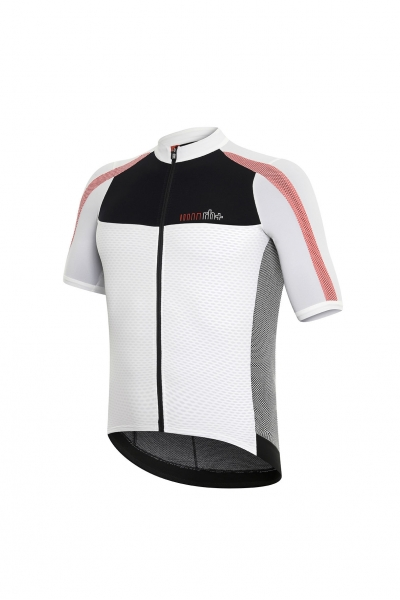 RH+ DRYSKIN AIRX JERSEY White/Black/Red ECU0352-093